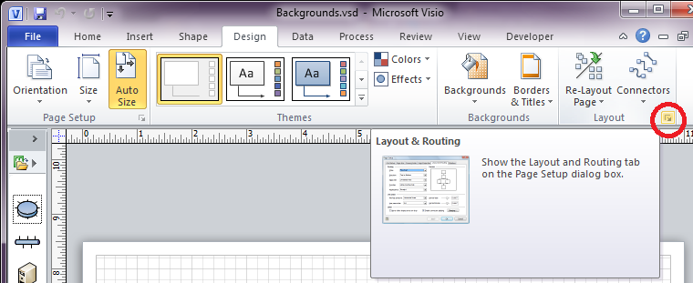 Visio - Background Check - Lame Journal