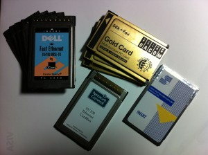 PCMCIA Cards - Somewhat Old Technology