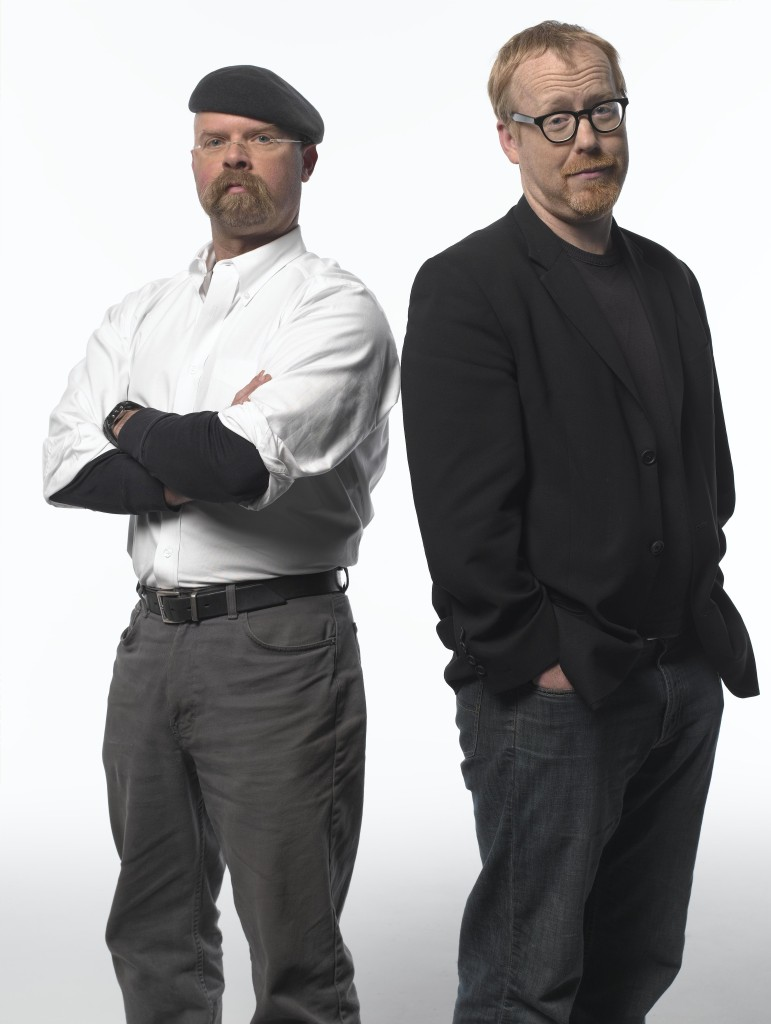 The Mythbusters - Adam Savage and Jamie Hyneman