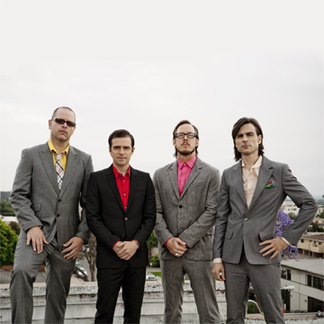 Weezer (Picture courtesy of weezer.com)