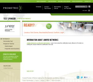 Prometric Juniper Contact Info