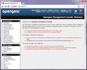 Web GUI 1