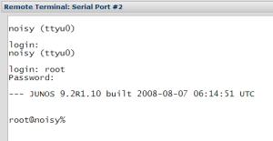 Access Remote Serial