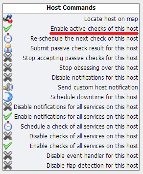Host Commands