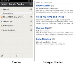 Reader vs Reeder