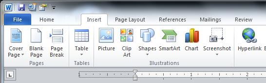 Office 2010 Ribbon