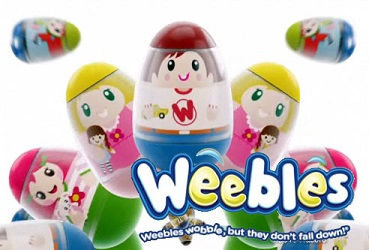 Weebles, To Ensure It Wobbles Without Falling Down