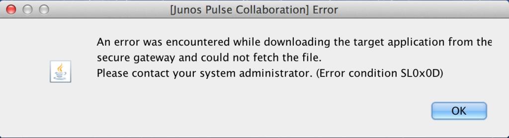 Pulse Error