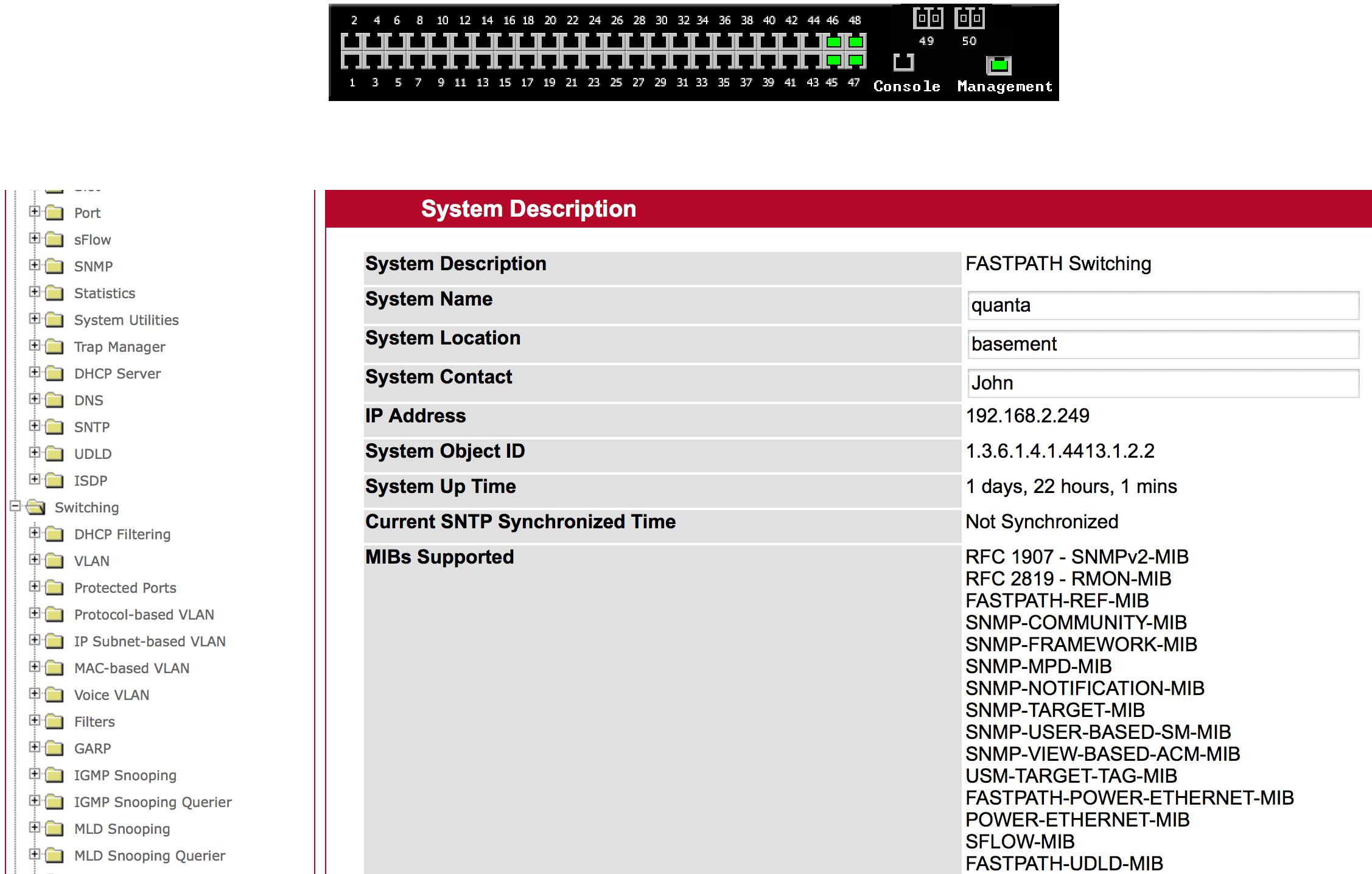 The Quanta LB4M - Cheap White Box Switching? - MovingPackets net