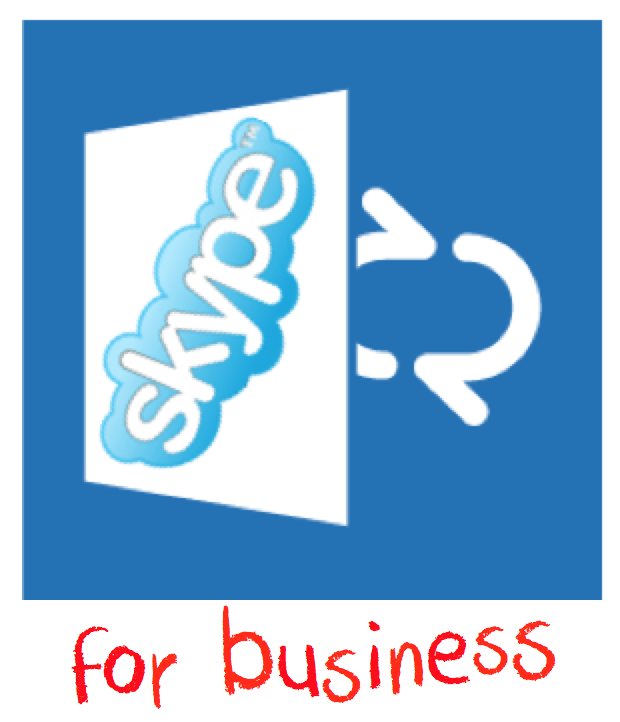 Not the Skype For Business Logo