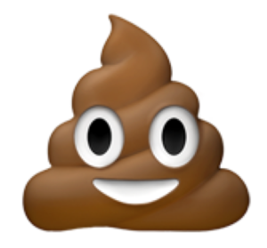 Smiling Pile of Poop (Apple)