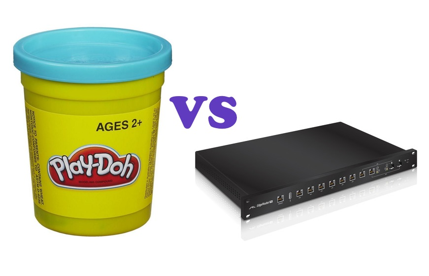 Epic Evaluation: Ubiquiti ERPro-8 vs Play-Doh - MovingPackets net