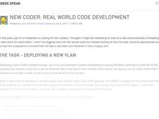 New Coder: Real World Code Development
