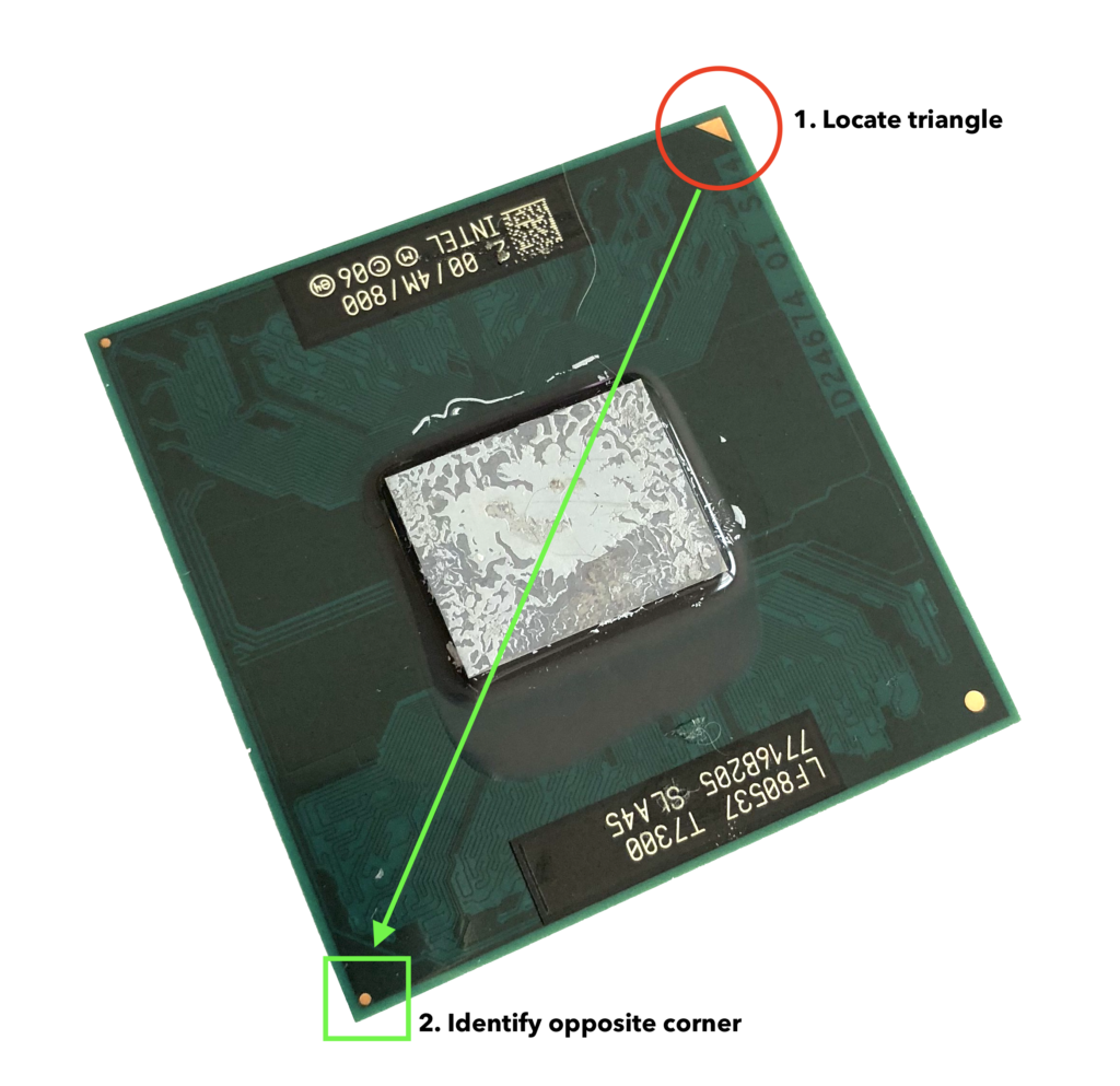 Locating Triangle on CPU