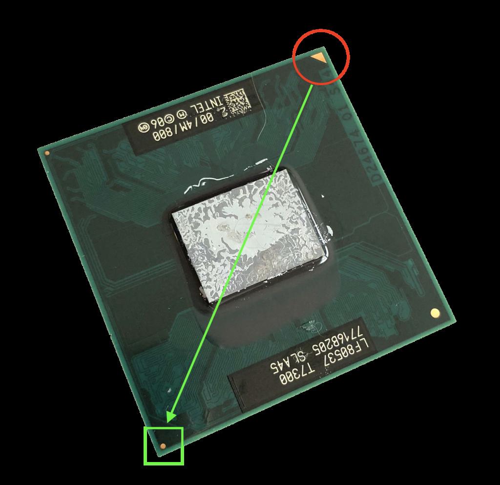 Locating Triangle on CPU