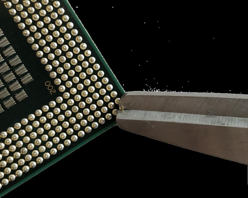 Removing BP Pin