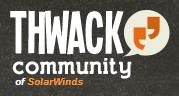 Solarwinds Thwack