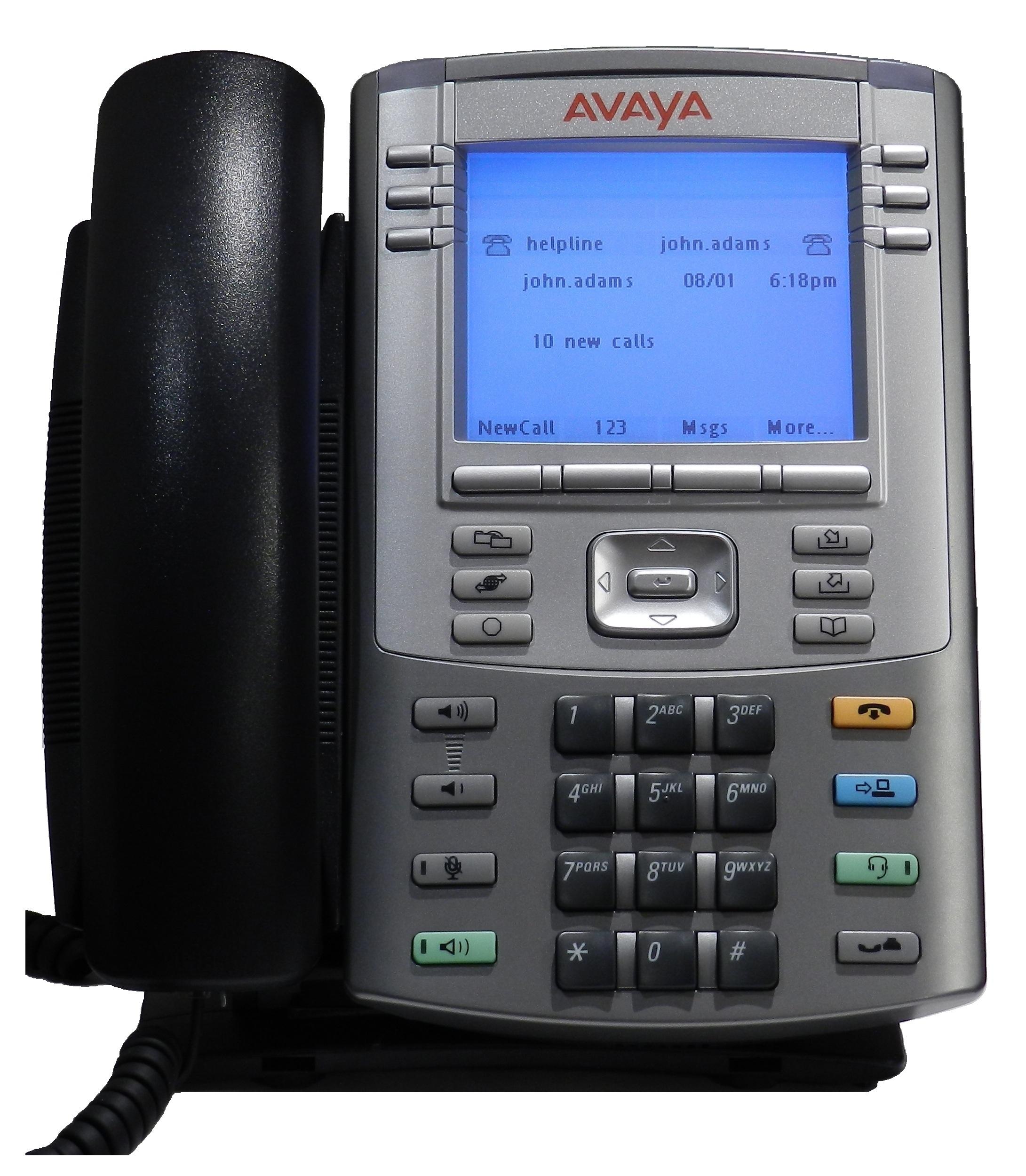 Avaya Phone by Wikipedia user Geek2003