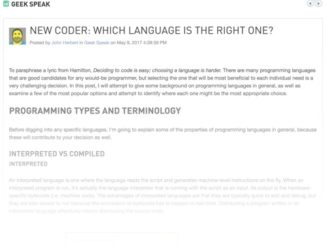 New Coder: Which language is the right one? (Thwack)